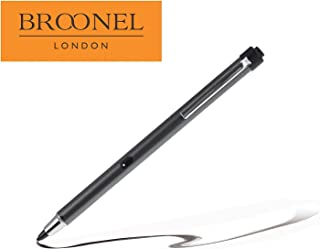 Broonel Metallic Grey Rechargeable Fine Point Digital Stylus Compatible with TheArchos 90b Neon
