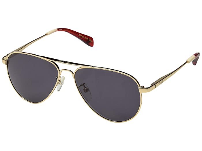 TOMS Disney(r) Maverick Junior (Shiny Yellow Gold) Fashion Sunglasses
