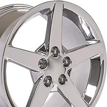 OE Wheels 18 Inch Fits Chevy Camaro Corvette Pontiac Firebird C6 Style CV06A Chrome 18x9.5 Rim
