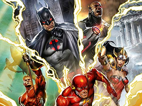 Justice League Flashpoint Poster (24x32)