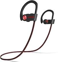 LETSCOM Bluetooth Headphones V5.0 IPX7 Waterproof, Wireless Sport Earphones, HiFi Bass Stereo Sweatproof Earbuds W/Mic, No...