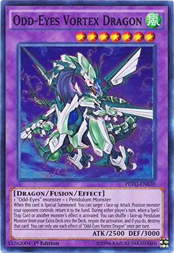 Odd-Eyes Vortex Dragon - PEVO-EN030 - Super Rare - 1st Edition - Pendulum Evolution (1st Edition)