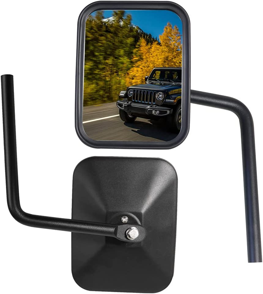 BESTAOO Doors Off Mirrors for Jeep Direct Spring new work one after another stock discount Wrangler JK TJ JL YJ CJ Unl