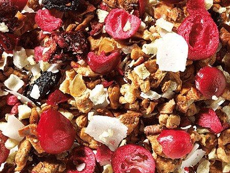 1kg - Tee - aromatisierter Früchtetee - WOLKENSCHIEBER - Kirsch/Kiwi/Kokos-Note - säurearm!