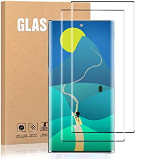 LasGame Galaxy Note 10 Screen Protector Tempered Glass,[2-Pack][Anti-Fingerprint][No-Bubble][Scratch-Resistant] Glass Screen Protector for Samsung Galaxy Note 10