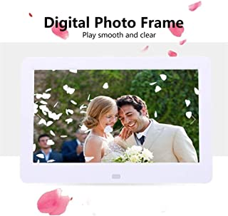 HUALEIYUAN AU 10 Inches Digital Picture Frame Photo Album High Resolution MP3 MP4 Movie Player Alarm Clock with Remote Con...