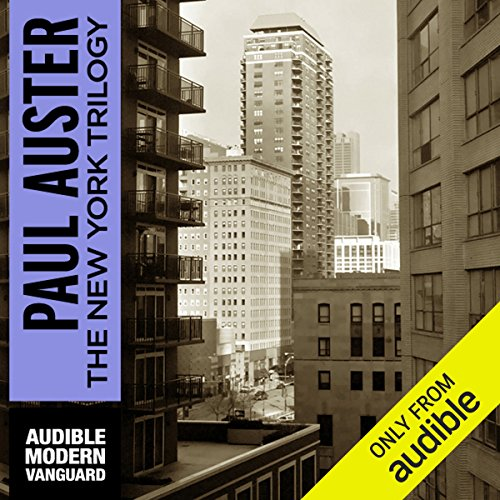 The New York Trilogy                    By:                                                                                                                                 Paul Auster                               Narrated by:                                                                                                                                 Joe Barrett                      Length: 12 hrs and 41 mins     118 ratings     Overall 3.8