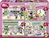 Puzzles Educa - Minnie Mouse, multipuzzles progresivos, 50 - 80 - 100 - 150 Piezas (15614)