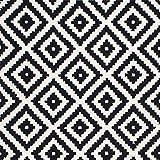 ZHOUAICHENG Zeitgenössische Wollteppich Indoor Outdoor Trellis Area Teppich Schwarz Weiß Diamond Area Teppich Modern Abstract Viele Größen erhältlich,140 * 200cm - 2