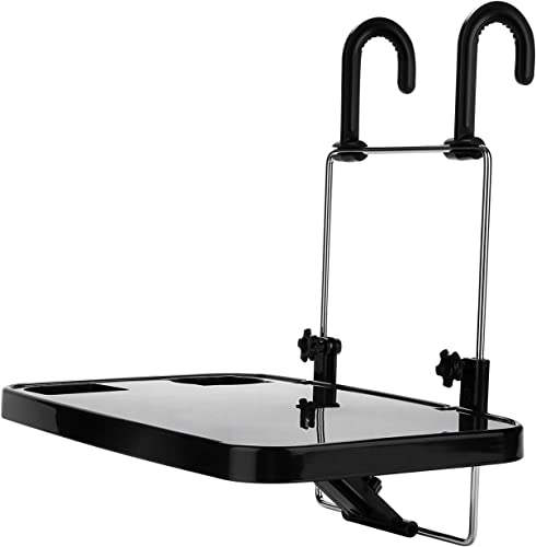 high quality X Xindell Steering Wheel Tray -Car Mount Laptop Stand Table Foldable Passenger Seat Desk for Food Eating outlet sale Drink Notebook lowest Cup Holder (Black) outlet online sale