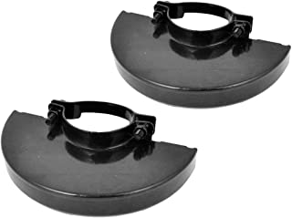 COMOK 2Pcs 4.5inch Black Angle Grinder Metal Safety Guard Protector Wheel Cover for Electric Angle Grinder