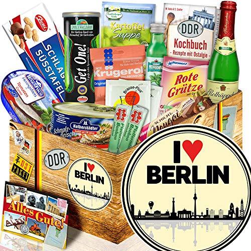 I love Berlin / Geschenk Spezialitäten / Geschenke für Berlin Liebhaber