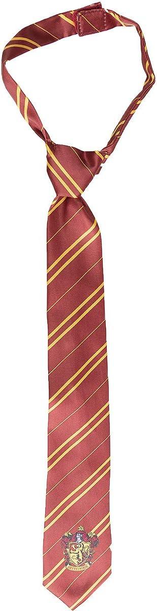 Funidelia   Corbata Harry Potter Gryffindor Oficial para niño y niña ▶ Hogwarts, Magos, Películas & Series - Color: Granate, Accesorio para Disfraz - Licencia: 100% Oficial