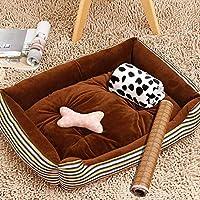 ソフト暖かいペットの犬猫がマットで夏のクーリングパッド枕コージーペットラグジュアリー犬のベッド、完全に洗える、猫のベッド、ペットベッドをスリーピング7サイズ-STYLE1-XXS(カラー:STYLE1、サイズ:XXS) ペット用品 (Color : Style1, Size : M)