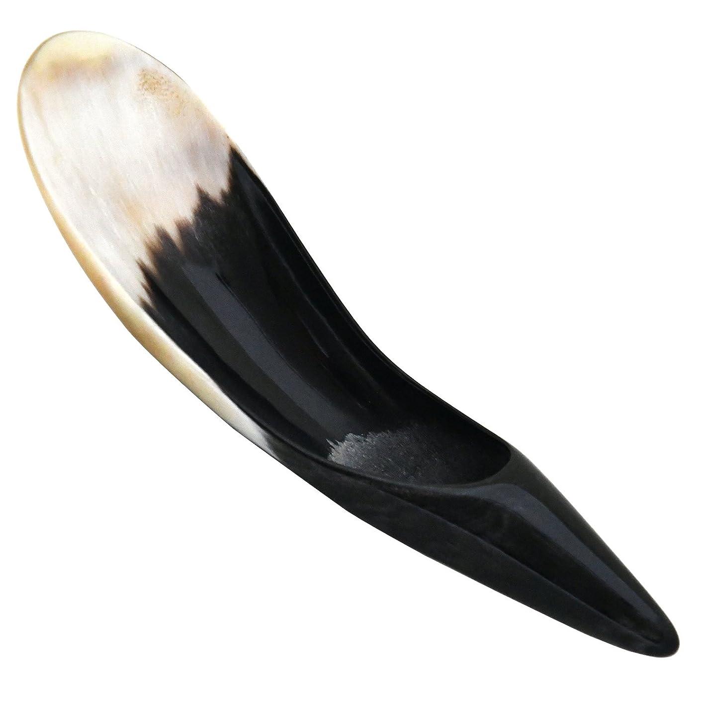 ニンニクオリエント放牧するNameraかっさ 牛角かっさプレート 円錐型