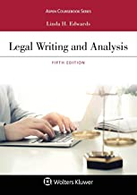 Legal Writing and Analysis (Aspen Coursebook Series) PDF