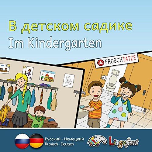 Lingufant - Im Kindergarten: russisch/ deutsch Titelbild