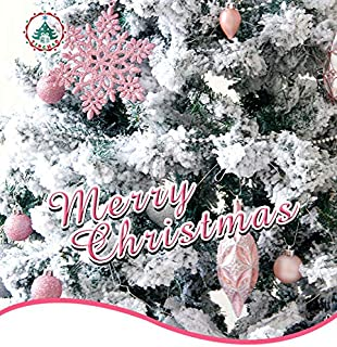 Australove 50 Pieces of Assorted Christmas Tree Ball Baubles Ornaments Shatterproof Seasonal Decorative Hanging Baubles Se...