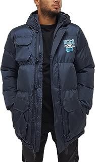 Ecko Mens Boys Navy Berlinetta Parka Puffer Padded Hooded Warm Winter Jacket Hip Hop