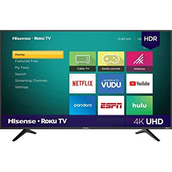 "Hisense Smart TV 65"" 4K UHD R6E (Renewed)"
