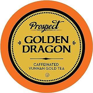 Prospect Tea Golden Dragon Yunnan Gold Tea Pods for Keurig K-Cup Makers, 40 Count