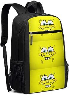 Travel Laptop Backpack Spongebob Wallpaper College School Bookbag Computer Bag Casual Daypack For Women Men