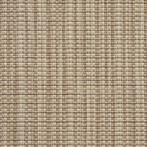 SL009 Beige and Ivory Woven Sling Vinyl Mesh Outdoor Furniture Fabric by The Yard