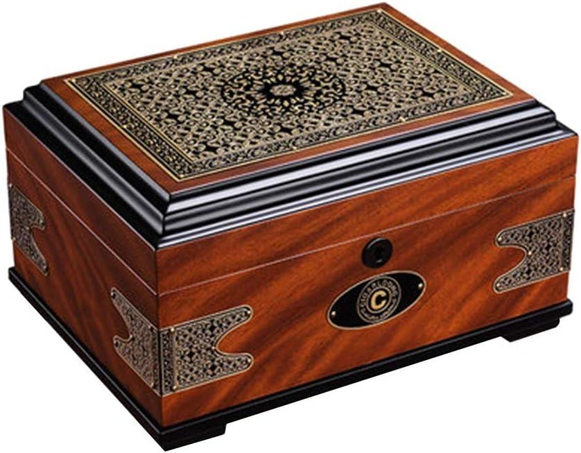 Humidors Cigar moisturizing Cabinet 2021 autumn and winter new Double Box Super sale Maintenance