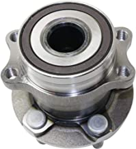 Wheel Hub and Bearing compatible with 2014-2016 Subaru Forester Rear Left or Right AWD With ABS Encoder Studs