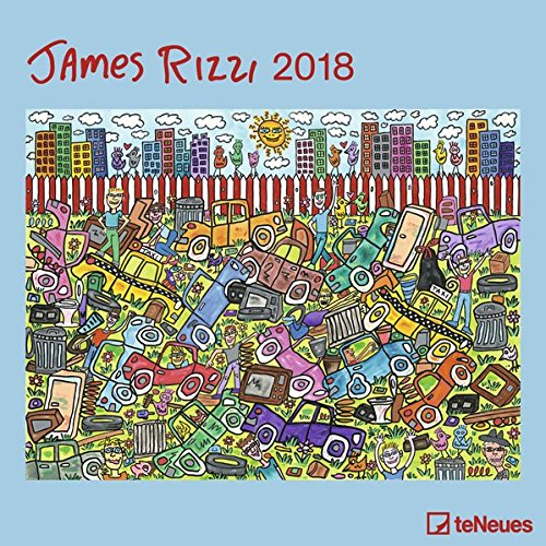 James Rizzi 2018: teNeues Kunstkalender