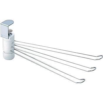 レック 吊戸棚 ふきん掛け (3本) ホワイト K-509