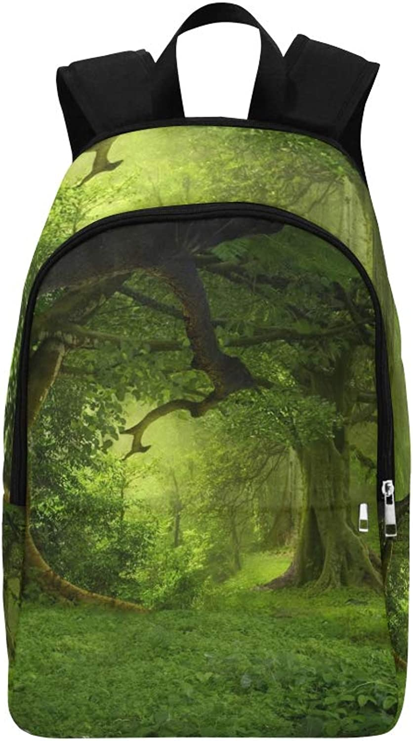 Deep Tropical Jungles Southeast Asia August Casual Daypack Travel Bag College School Backpack for Mens and Women