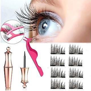 Magnetic Eyeliner With False Eyelashes Set, Waterproof