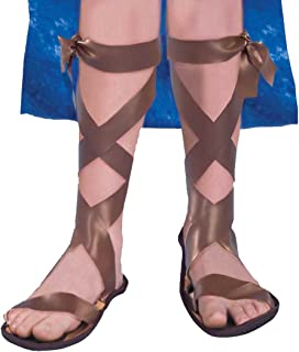Forum Novelties Child Roman Sandals, As Shown, Medium
