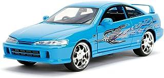 Jada Fast & Furious Mia's Acura Integra Type R, 1: 24 Scale Die-cast Car, Blue