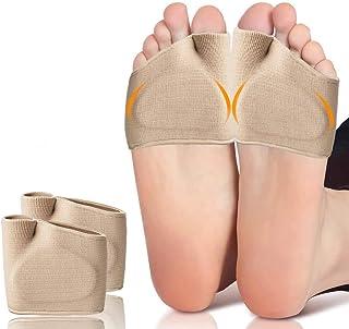 4 عدد پد کف پا متاتارسال ، لنت های بالشتک پارچه ای نرم ، ناحیه بالشتک مراقبت از پا برای بالش های دیابتی ، تسکین درد Metatarsalgia از تاول و ناراحتی پینه جلوگیری می کند