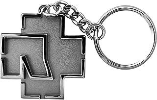 Rammstein Schlüsselanhänger Logo metallic, Offizielles Band Merchandise Fan