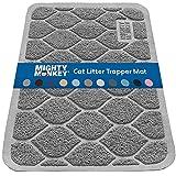 Best Cat Litter Mats - MIGHTY MONKEY Premium Cat Litter Mat, Best Scatter Review