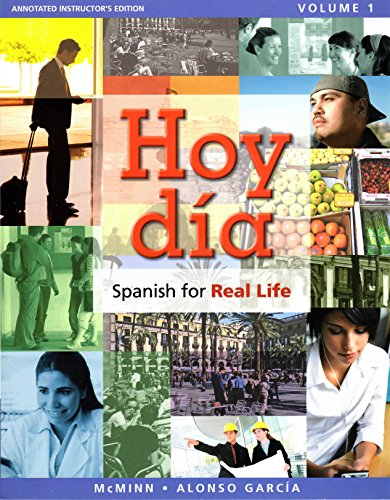 Hoy dia: Spanish for Real Life. Volume 1 (Annotated Instructor's Edition) – 2011