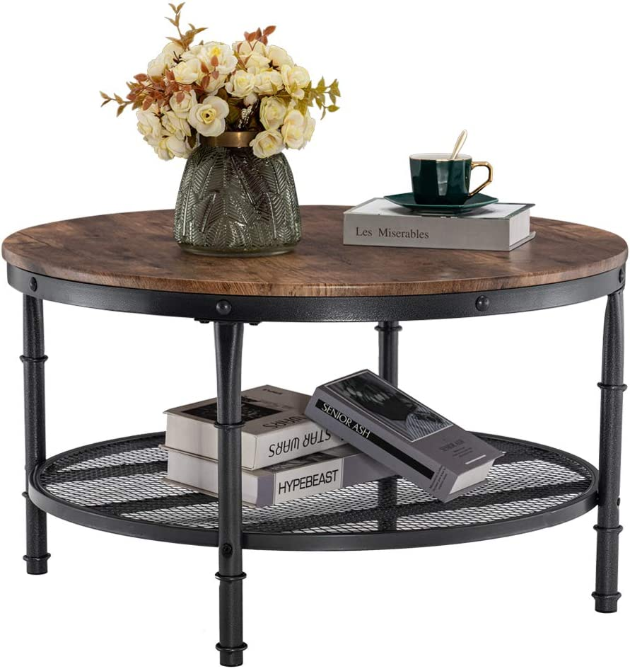 VINGLI Round Fort Worth Mall Coffee Ranking TOP4 Tables Room Table 31.5