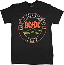 AC/DC T-Shirt Blow Up Your Video Tour 1988 Rock n Roll Hall Of Fame Men's Tee