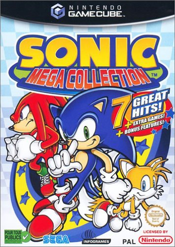 Sonic Mega Collection - Player's Choice [FR Import]