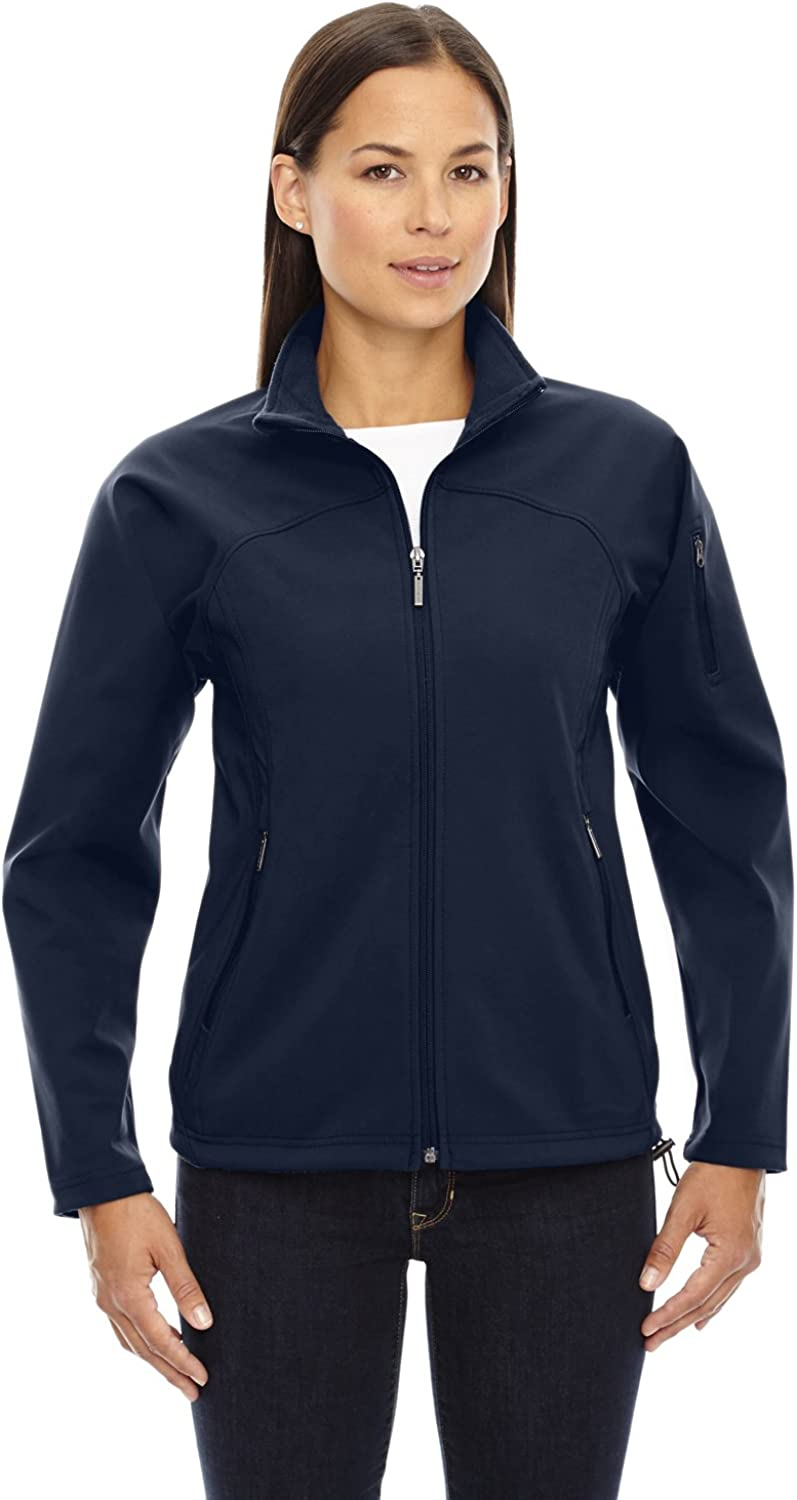 North End Ladies Height Performance Soft Shell Jacket. 78034LargeMidnight Navy (US)