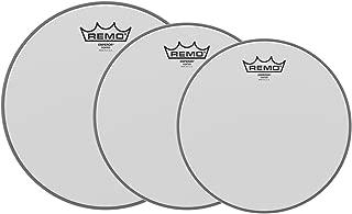 Remo 10/12/16 Emperor Coated Drumhead (3 Pack Bundle)