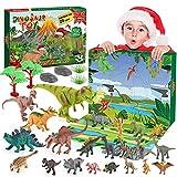 BOXYUEIN Calendario Adviento 2021, Juguetes niños 2 3 4 5 6 7 8 9 10 años Dinosaurios Juguetes 2 3 4 5 6 7 años Regalos para Niños de 2-10 años Calendario de Adviento Niño Regalos Navidad Niños