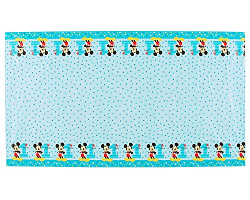 American Greetings Mickey Mouse 1st Birthday Plastic Table Cover