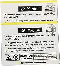 Bed Sticker for QIDI TECH X-Plus 3D Printer: 2 pcs kit