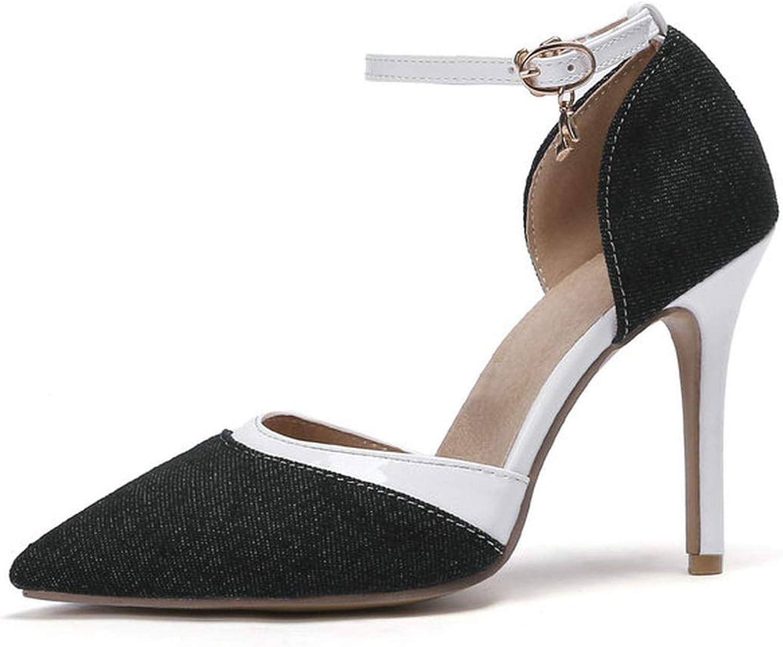 Mamamoo Women shoes Platform Women Pumps Thin High Heel Pointed Toe Two-Piece Fashion Women shoes