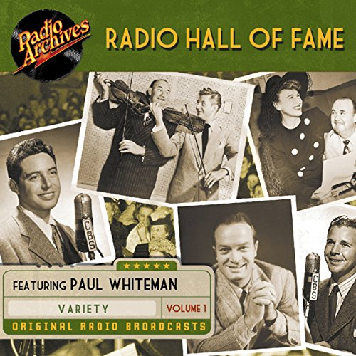 Radio Hall Fame, Volume 1 audiobook cover art