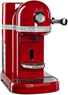 KitchenAid KES0503ER Nespresso, Empire Red (Renewed)